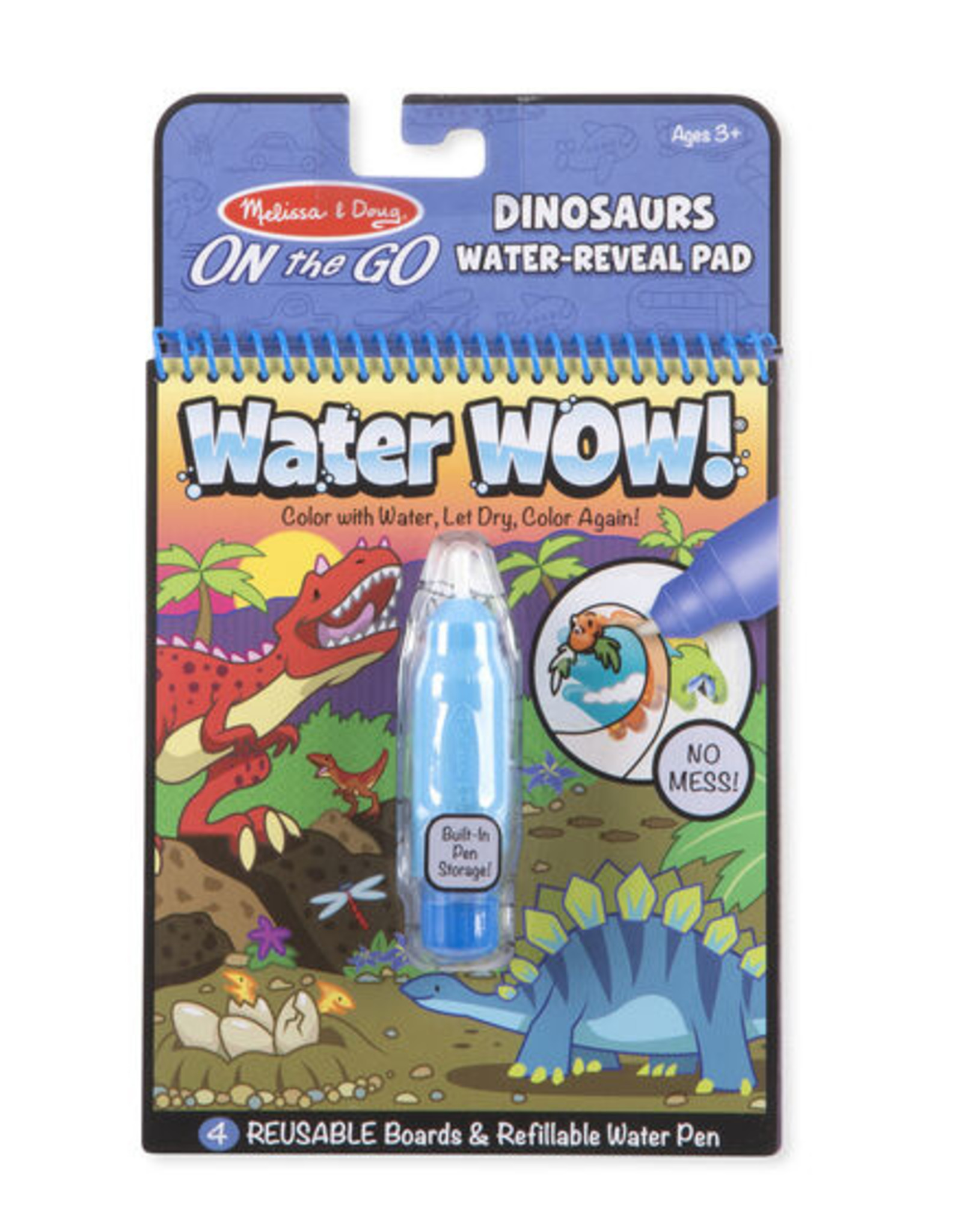 Melissa & Doug Water Wow- Dinosaur