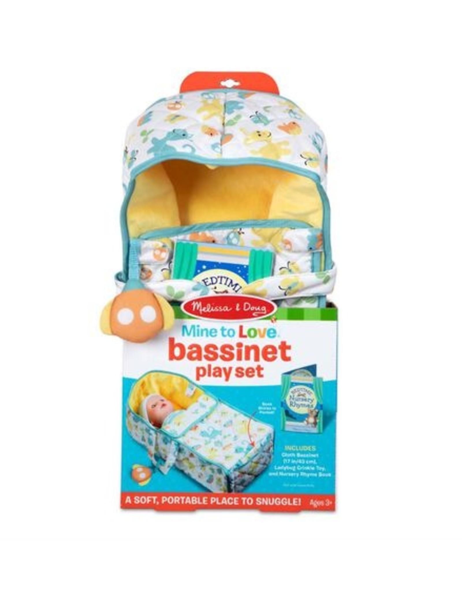 Melissa & Doug Mine to Love Bassinet Play Set