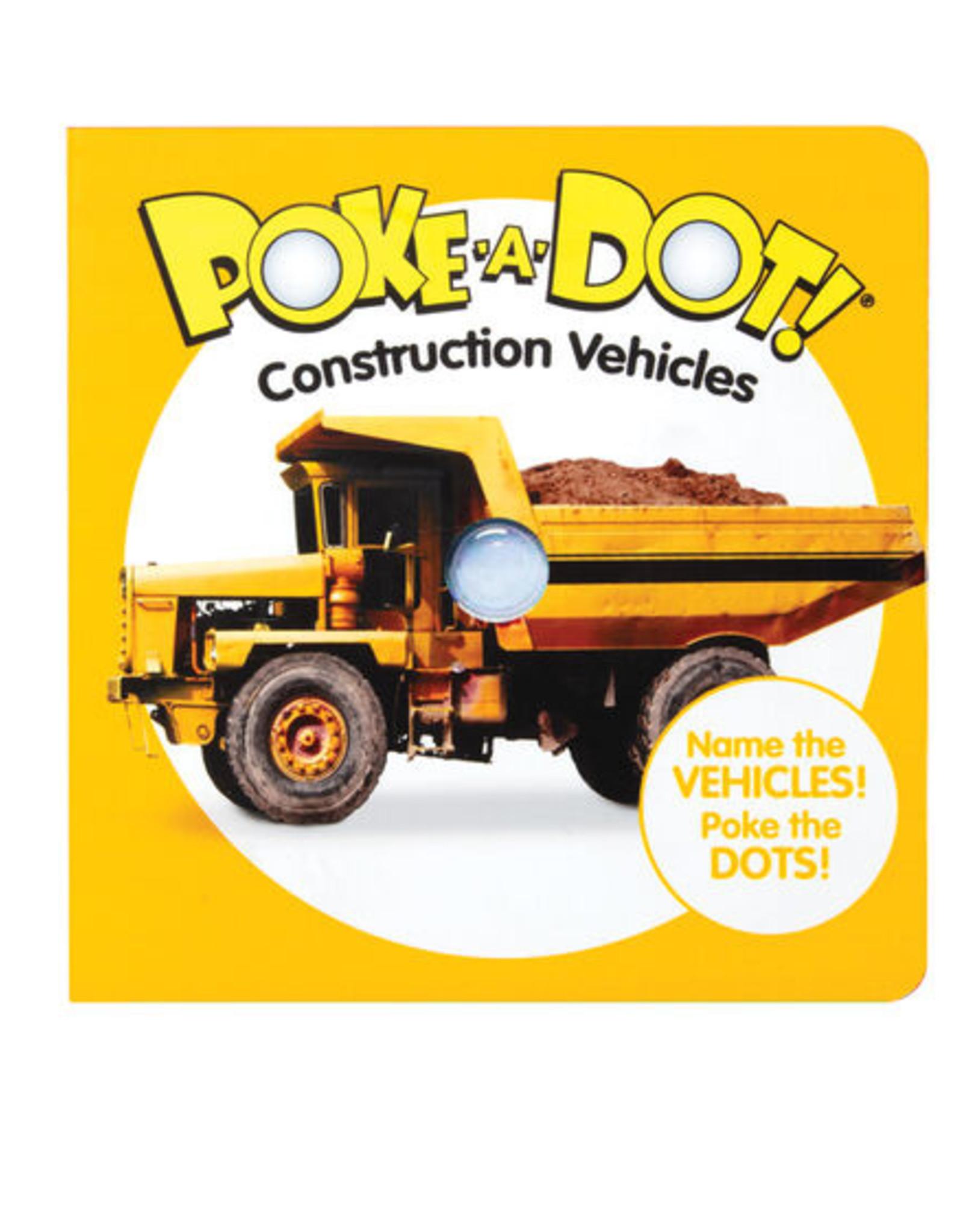 Melissa & Doug Poke-A-Dot: Construction Vehicles