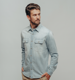 The Normal Brand Danny Denim Button Up Shirt