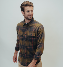 The Normal Brand Conrad Plaid Button Up Shirt