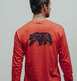 The Normal Brand LS Worn In Bear T