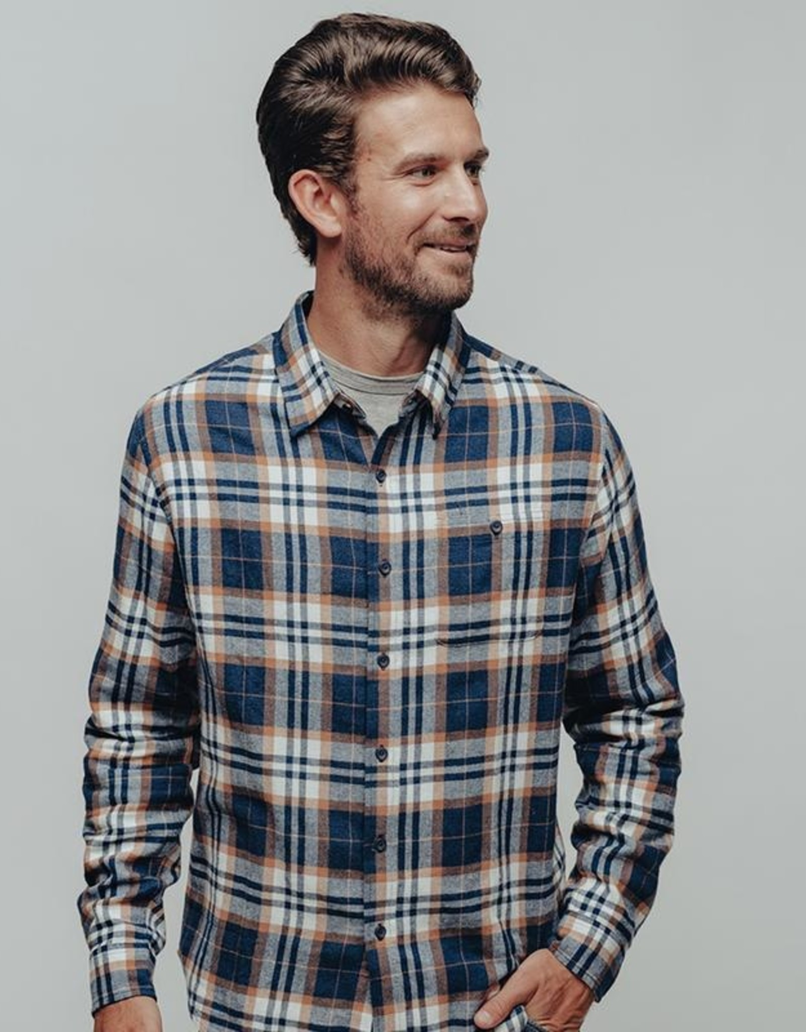 The Normal Brand Stephen Button Up Shirt