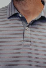 The Normal Brand Puremeso All Over Stripe Polo