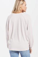 Z Supply Plira Slub Sweater Top