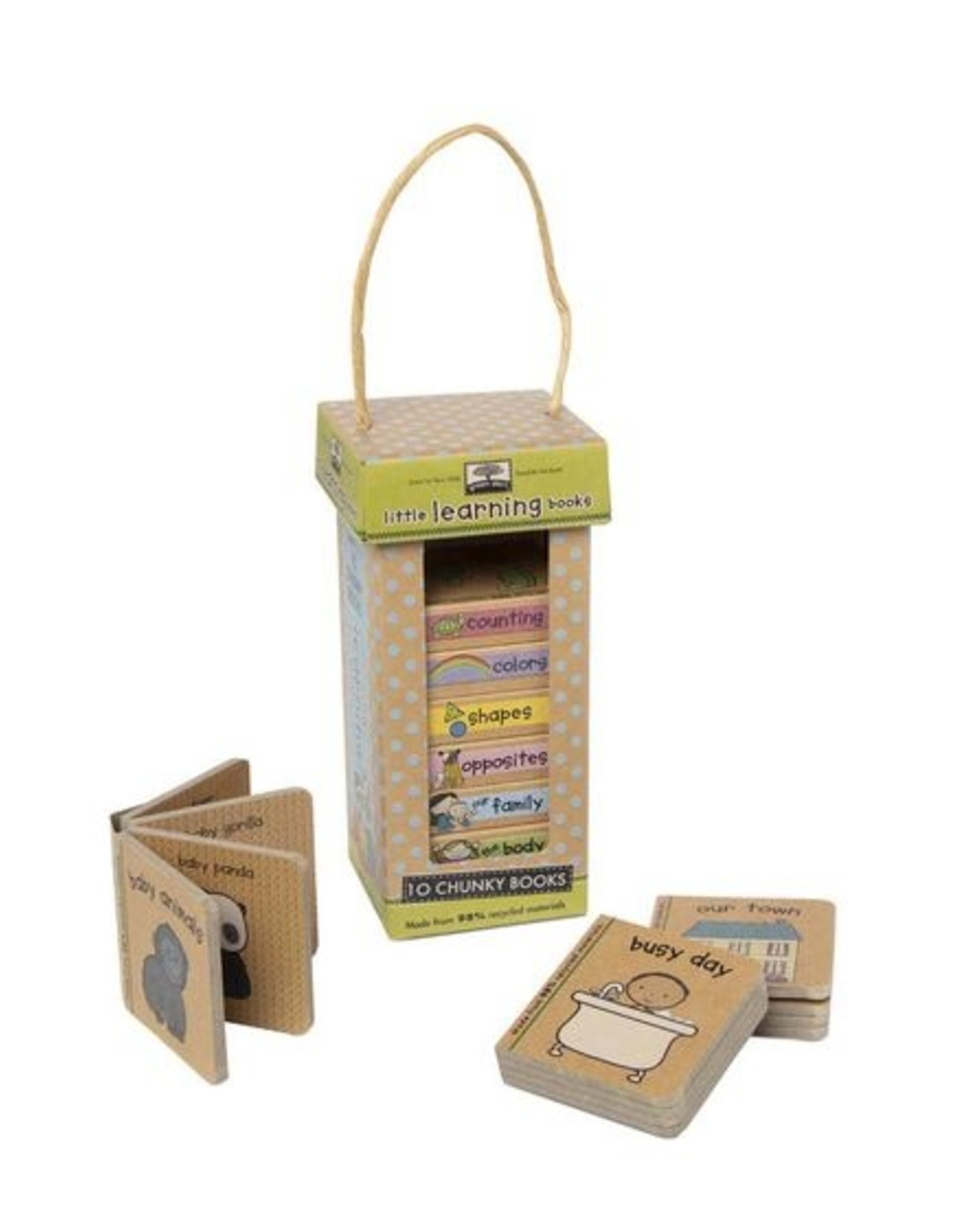 Melissa & Doug NP Book Tower: Little Learning Books