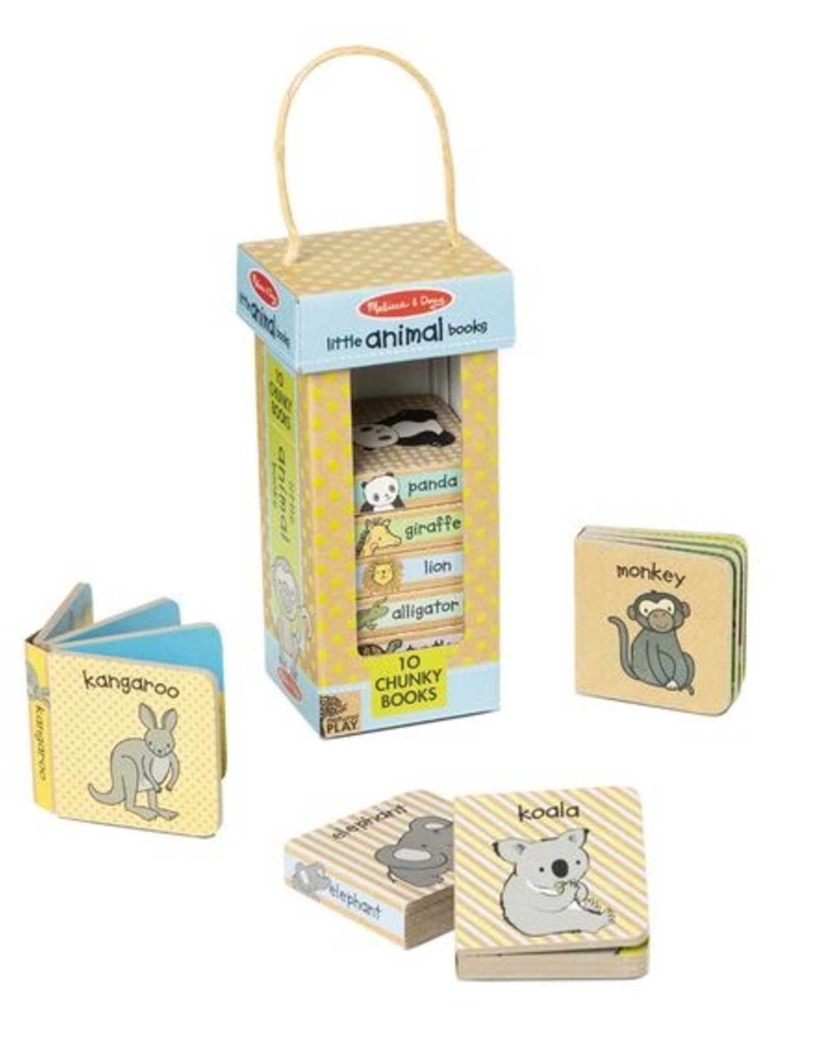 Melissa & Doug NP Book Tower:Little Animal Books