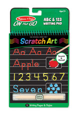 Melissa & Doug Scratch Art - ABC & 123 Writing Pad