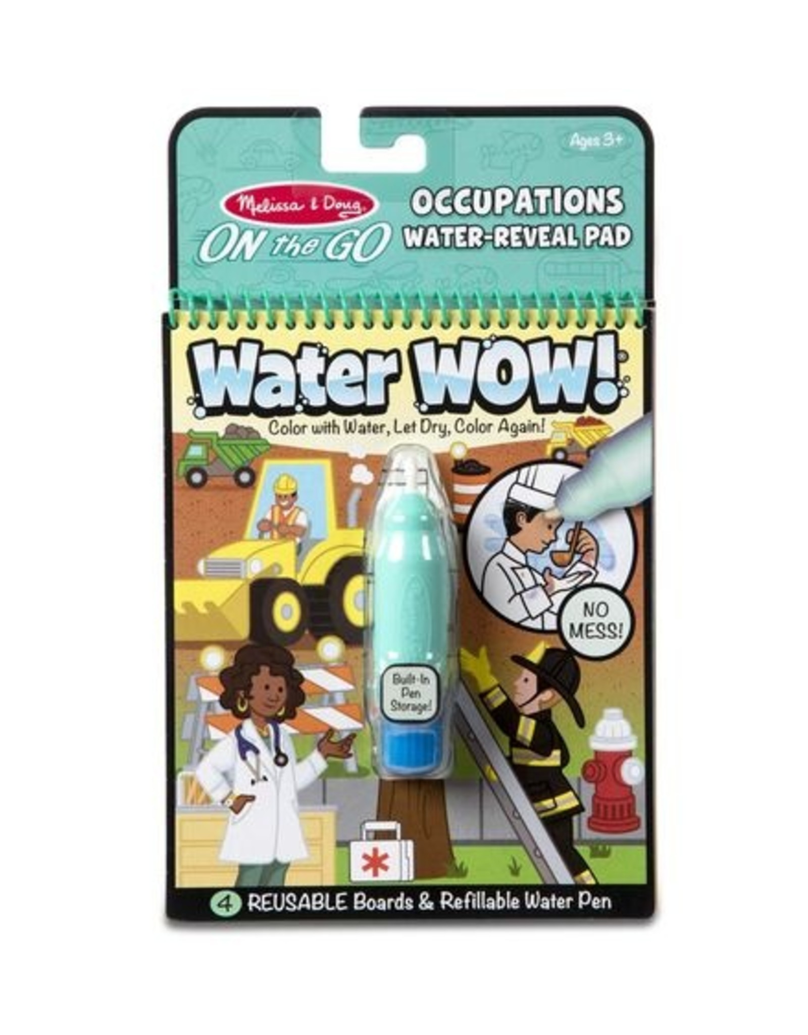 Melissa & Doug On the Go Water Wow! - Occupations