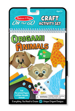 Melissa & Doug On-the-Go Crafts - Origami Activity Set - Animals