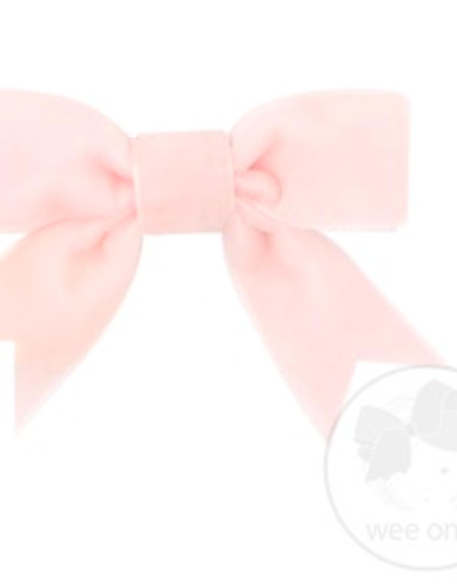 Wee Ones Mini Velvet Bowtie w/ Fancy Tails