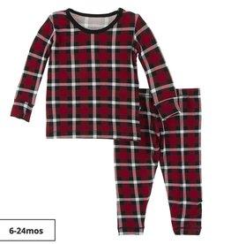 KicKee Pants Print Long Sleeve Pajama Set