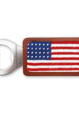 Smathers and Branson American Flag Needlepoint Bottle Opener