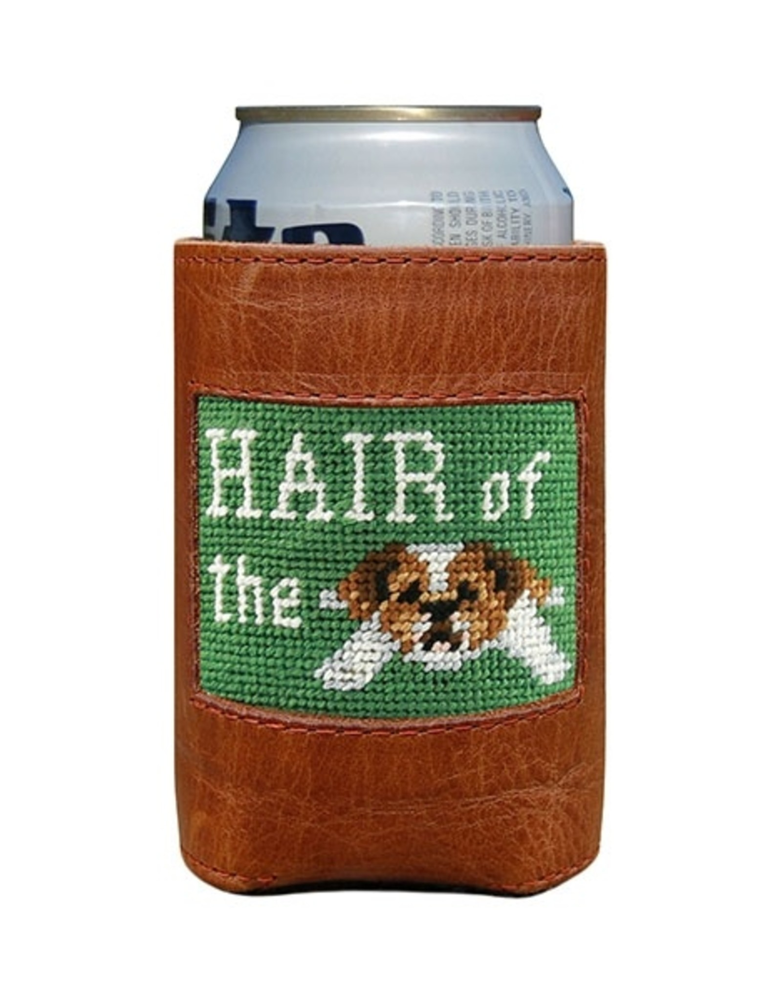Smathers and Branson Hair of the Dog Needlepoint Can Cooler