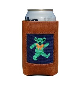 Smathers and Branson Dancing Bears Needlepoint Can Cooler