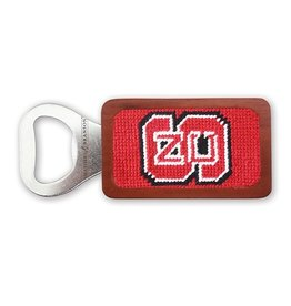 Smathers and Branson NC State Needlepoint Bottle Opener