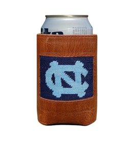 Smathers and Branson North Carolina (Dark Navy) Needlepoint Can Cooler