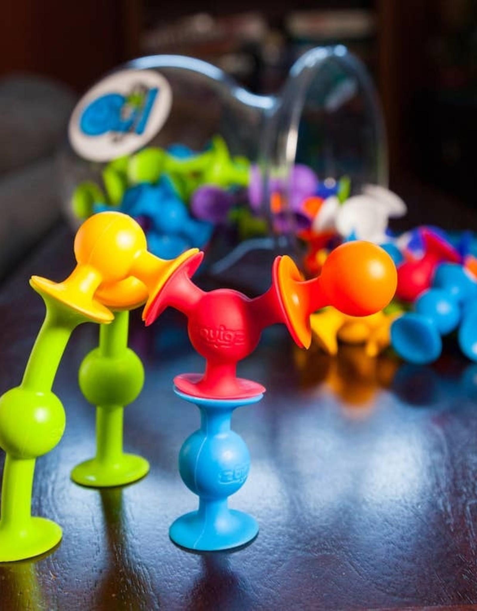 Fat Brain Toy Co. 24 Piece Squigz Starter Set
