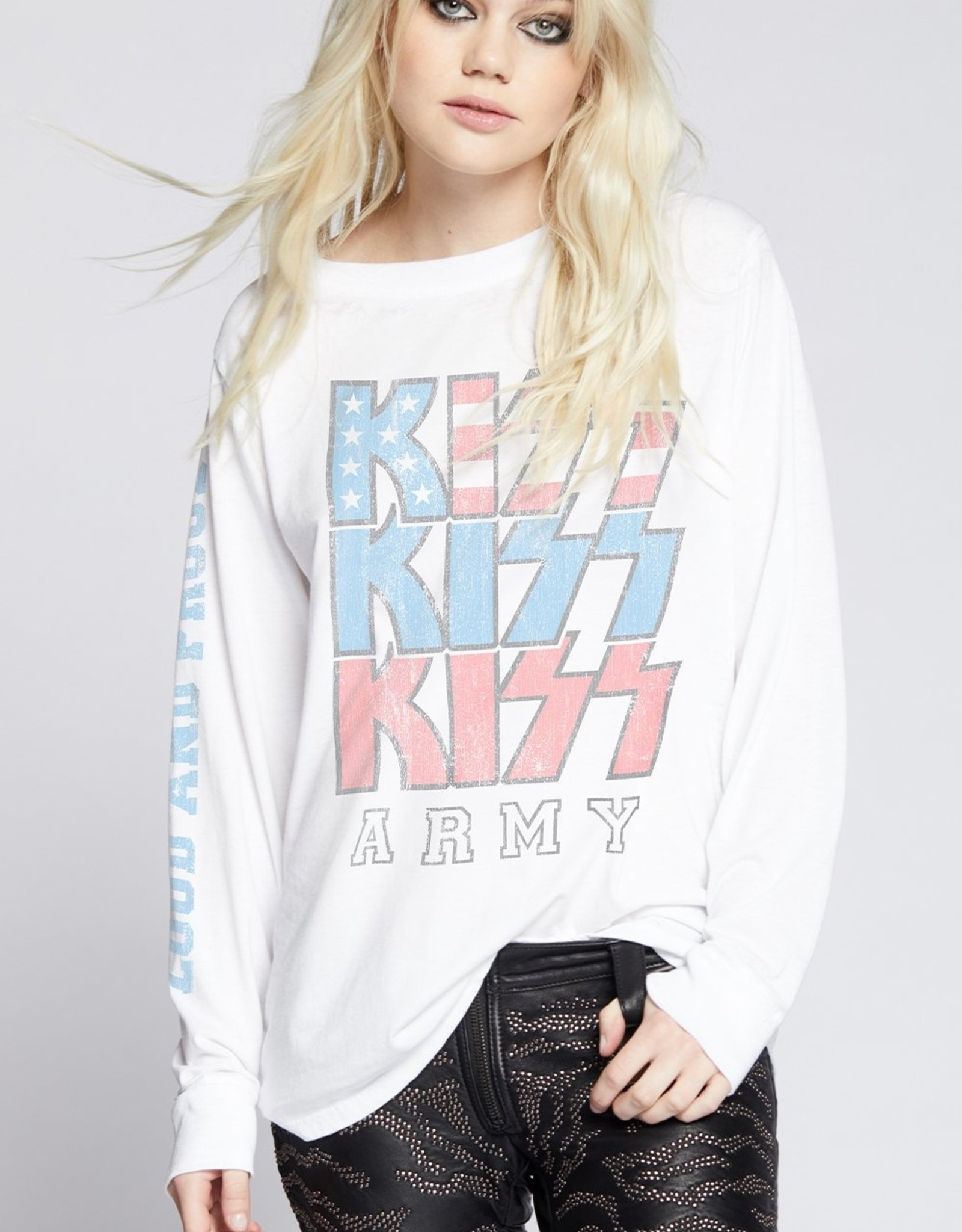 Recycled Karma KISS Loud and Proud LS Tee