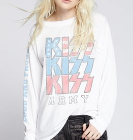Recycled Karma KISS Loud and Proud LS Tee