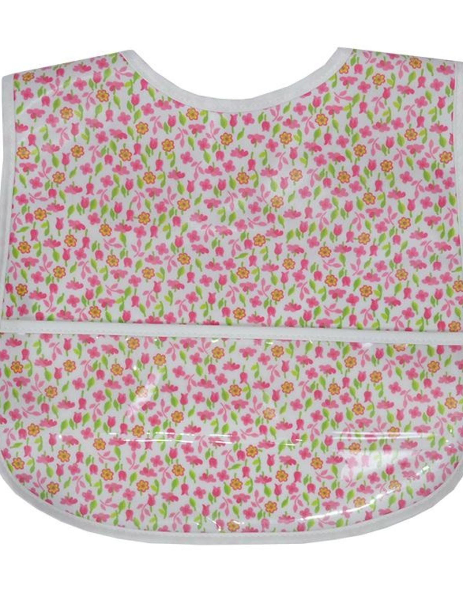 3 Marthas FRESH FLOWERS LAMINATED BIB