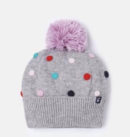 Joules Bella Pom Pom Knit Hat