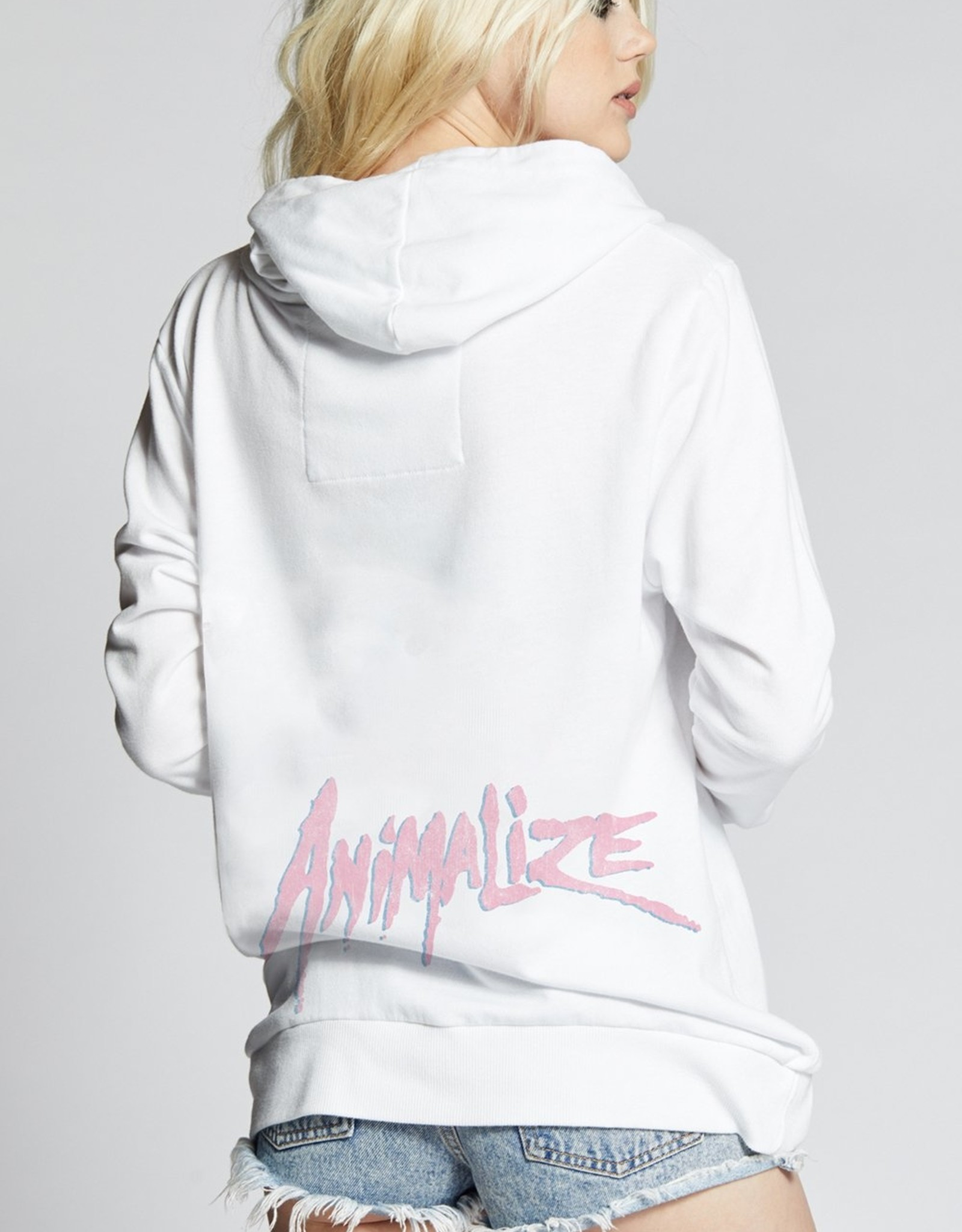 Recycled Karma KISS Animalize LS Hoodie