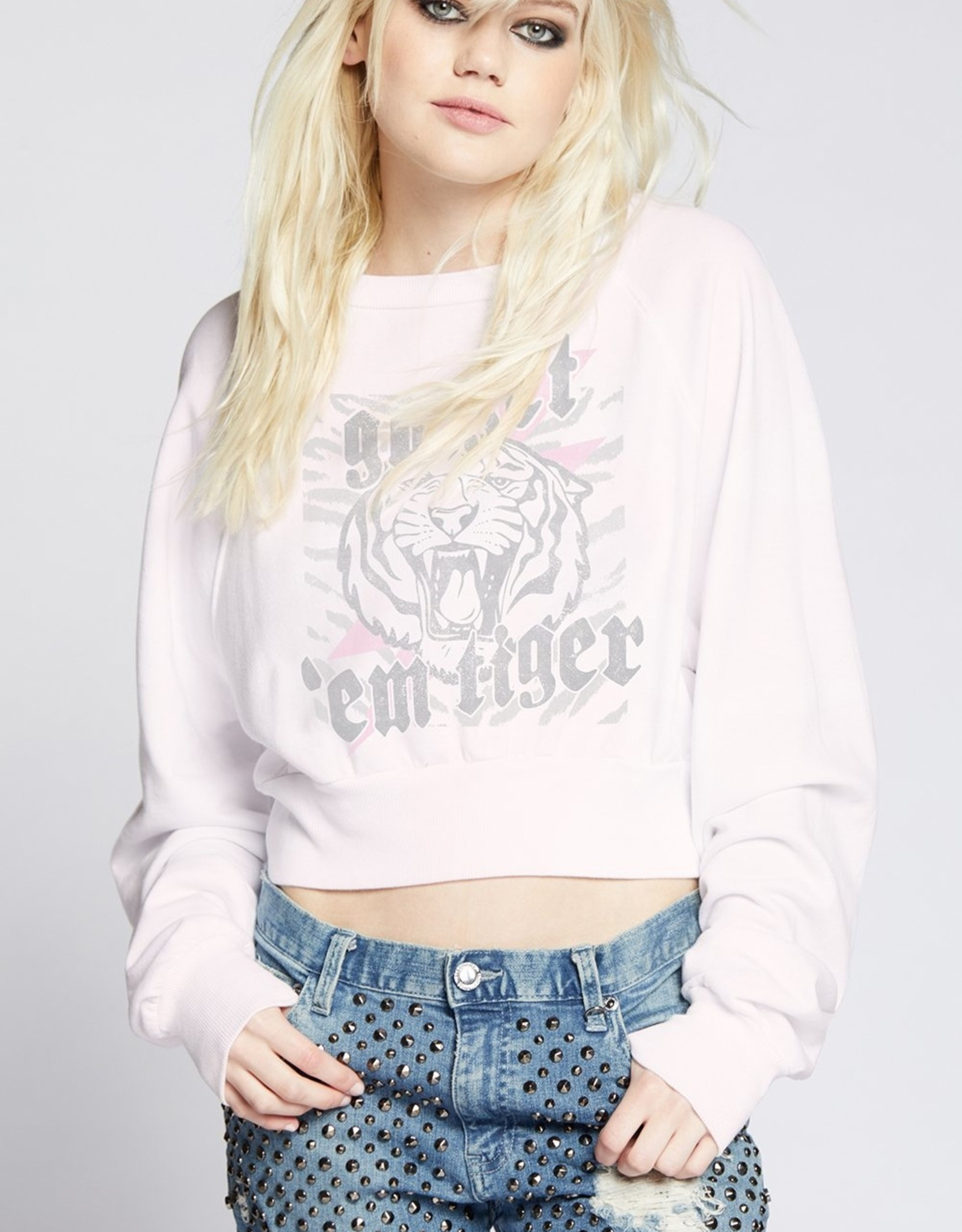 Recycled Karma Go Get'em Tiger LS Sweatshirt