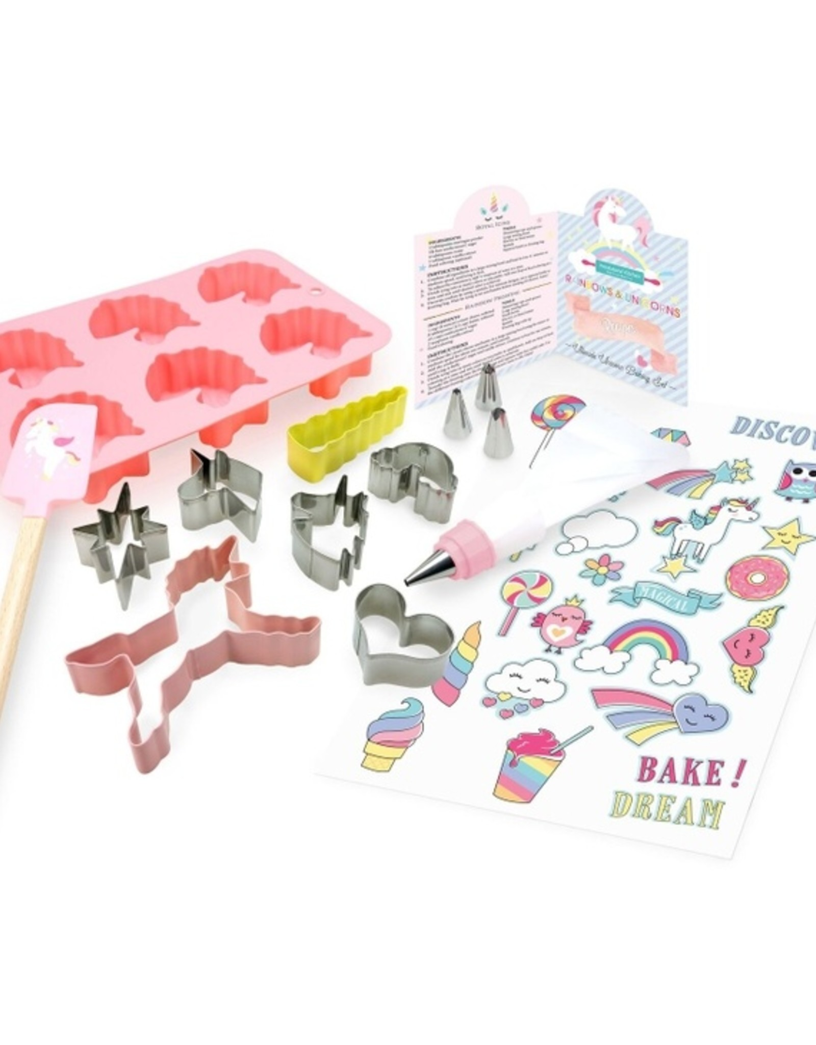 Handstand Kitchen Rainbows & Unicorns Ultimate Baking Party Set