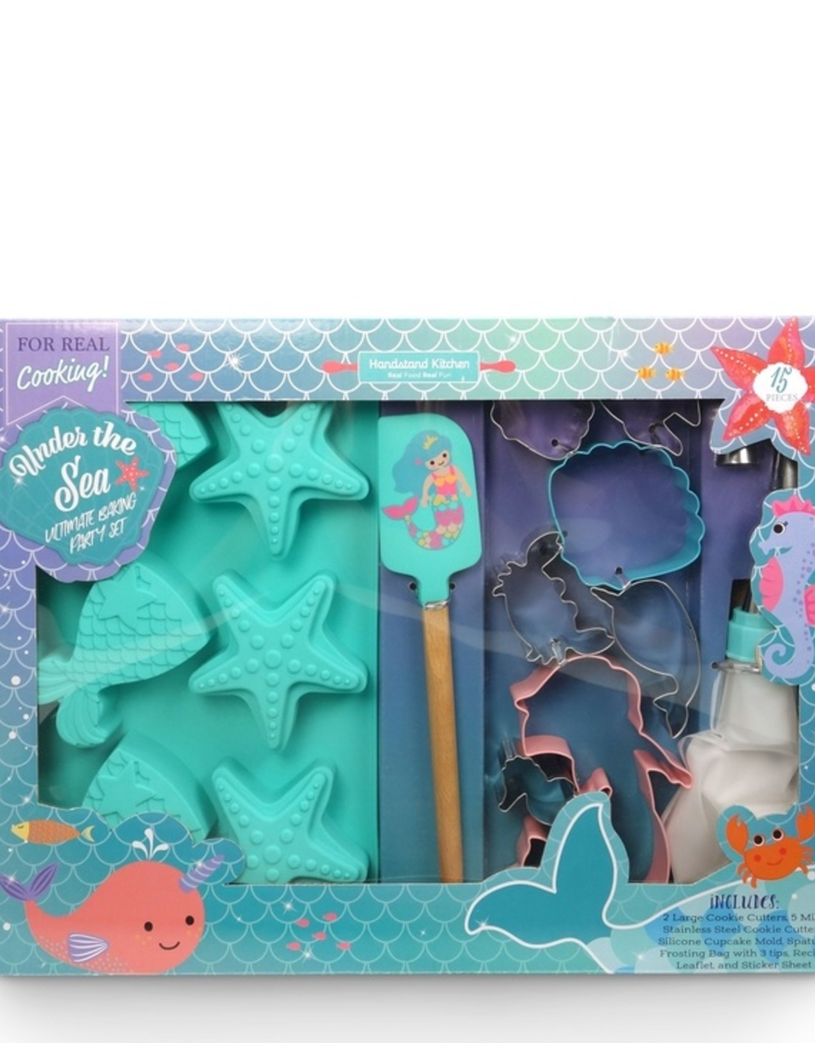 Handstand Kitchen Under the Sea Ultimate Baking Party Set