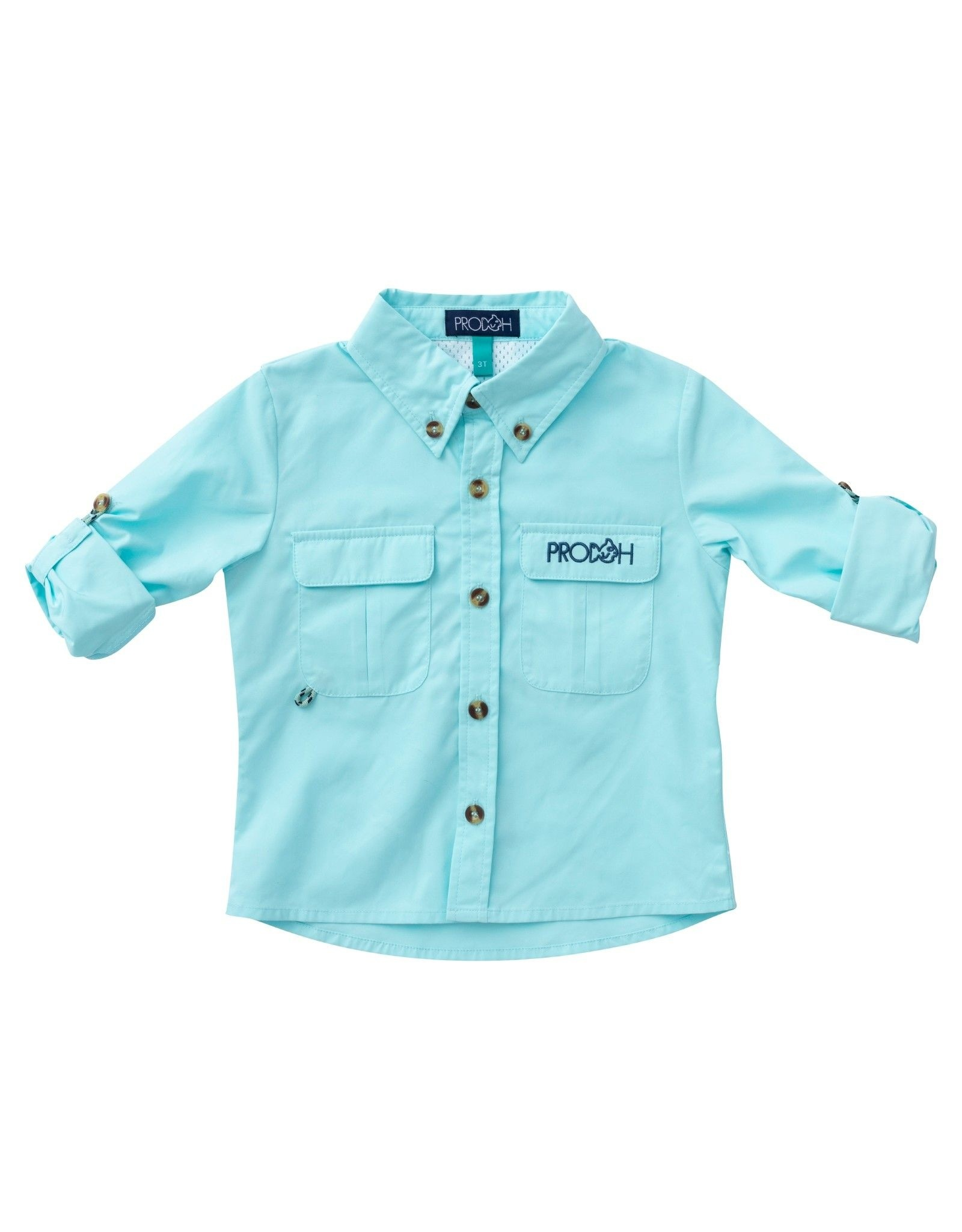 Prodoh Solid Vented Back Fishing Shirt- PREORDER