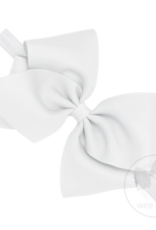 Wee Ones Mini King Grosgrain Bow on Band