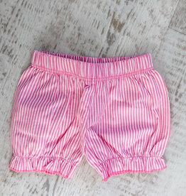 Luigi Kids Seersucker Gathered Shorts