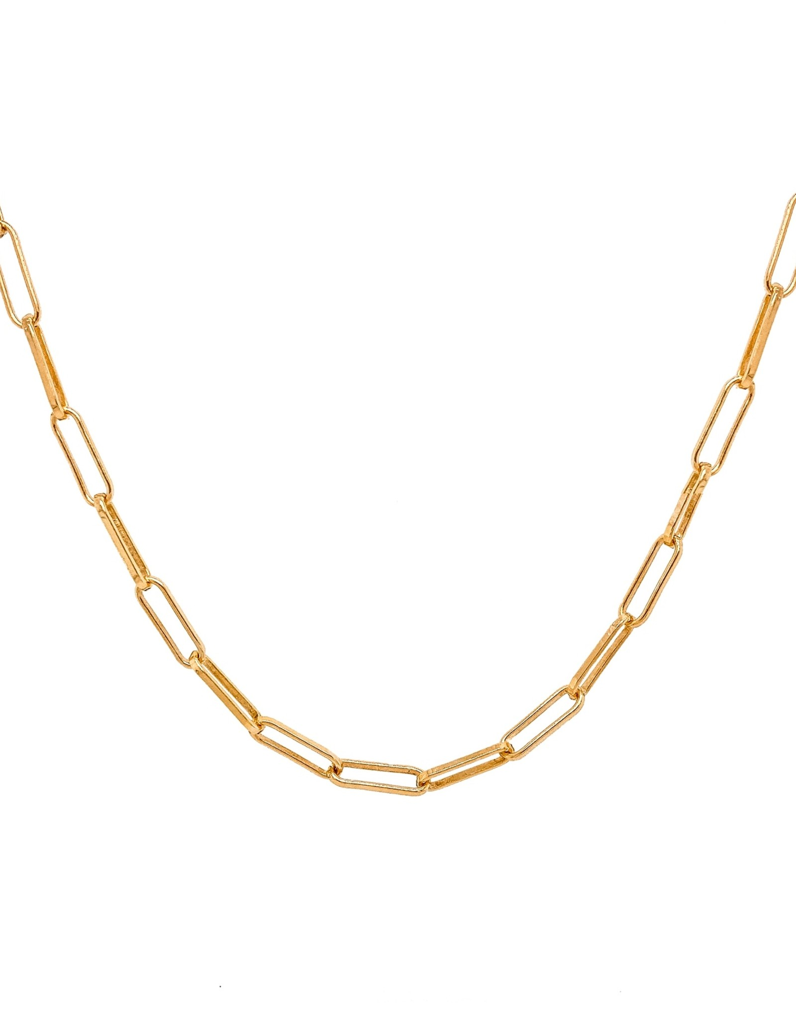 Mod + Jo Charlie Paperclip Chain Necklace