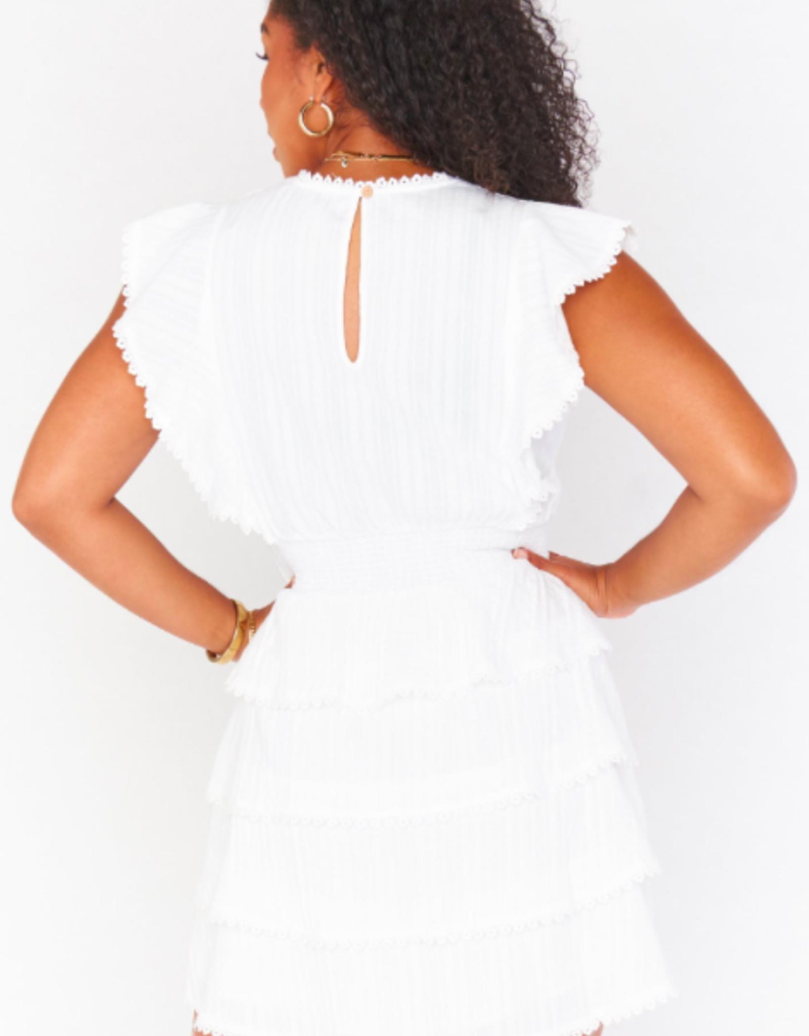 Show Me Your Mumu Sweet Ruffle Mini Dress