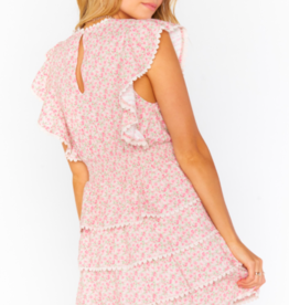 Show Me Your Mumu Sweet Ruffle Mini Dress
