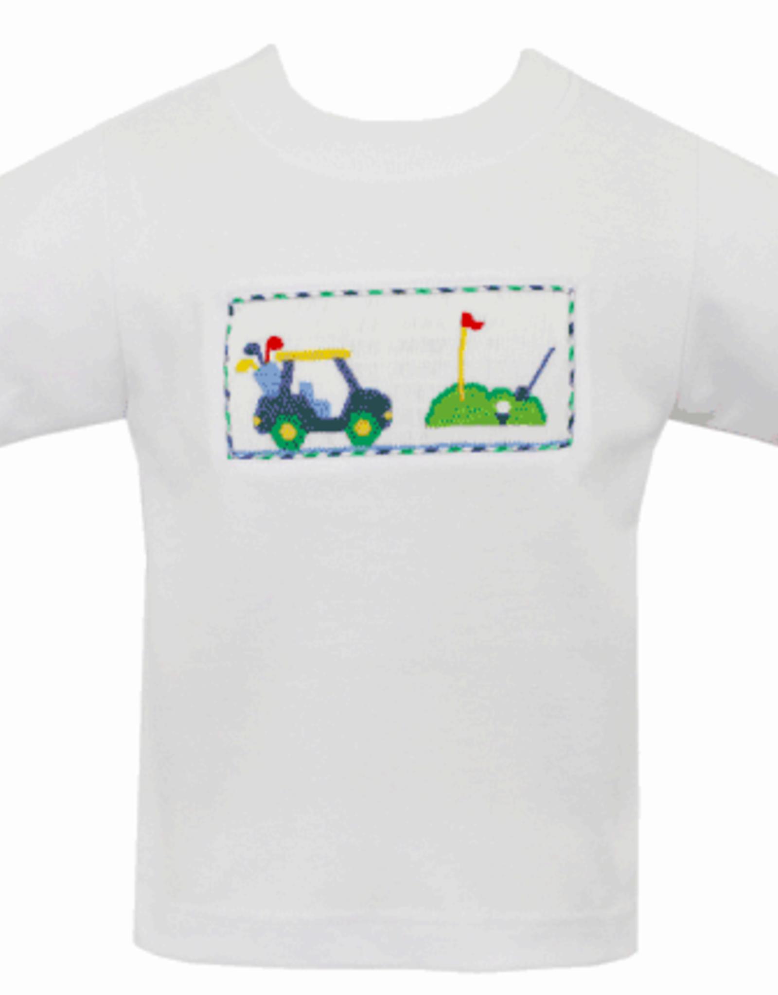 Anavini Golf - Boy's White T-Shirt
