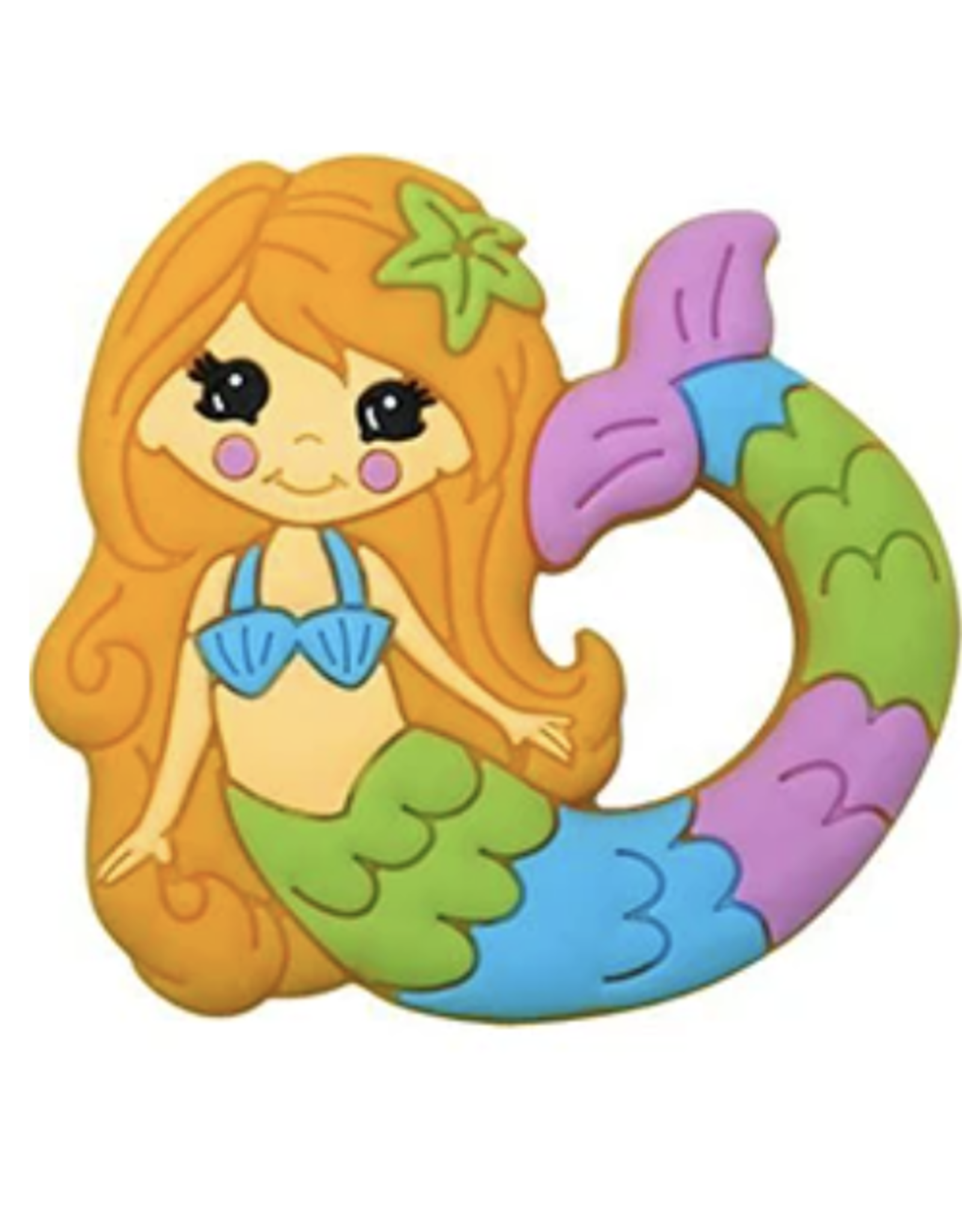 Silli Chews Mermaid Teether
