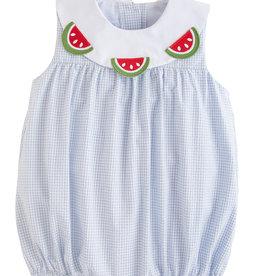 Little English Watermelon Bib Bubble