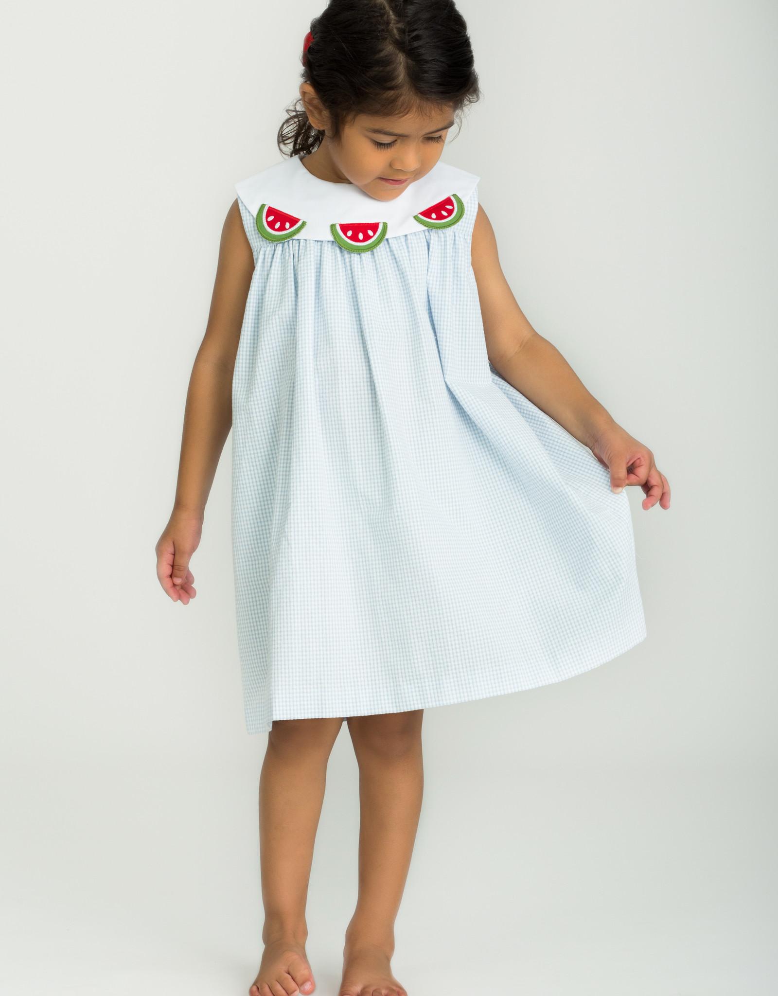 Little English Watermelon Bib Dress