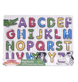 Melissa & Doug See-Inside Alphabet Peg