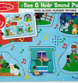 Melissa & Doug Nursery Rhymes 2 - Sound Puzzle