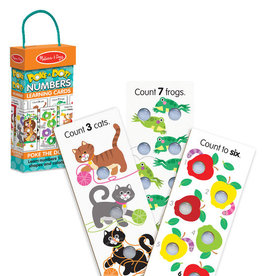 Melissa & Doug Poke-A-Dot Numbers Learning Cards