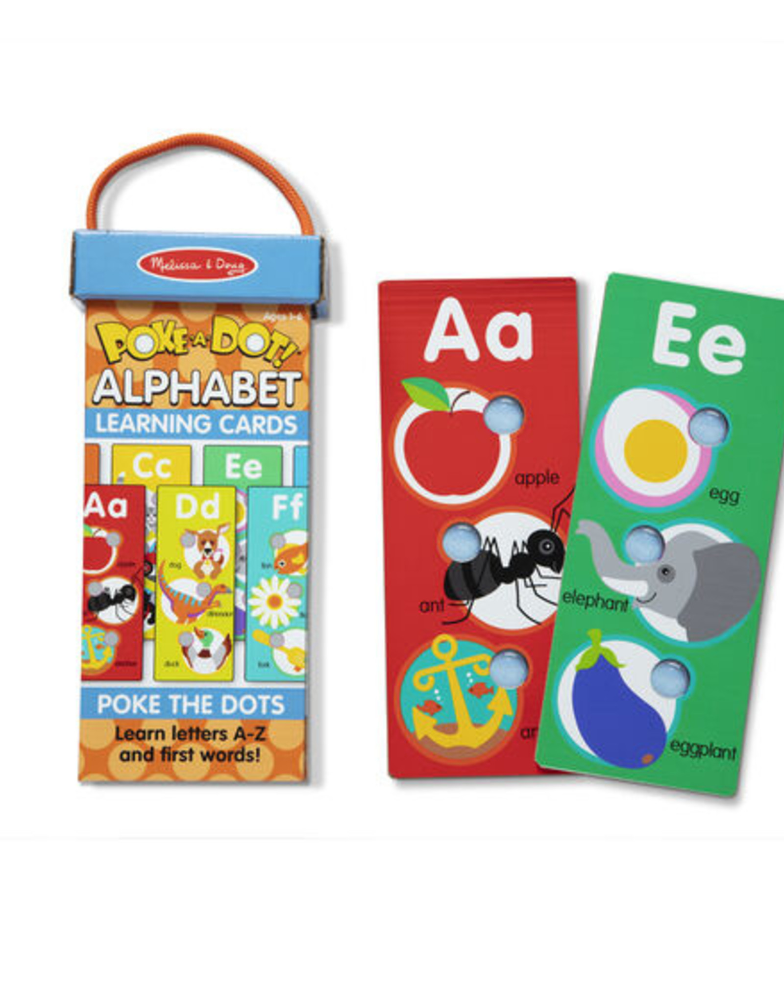 Melissa & Doug Poke-A-Dot Alphabet Learning Cards