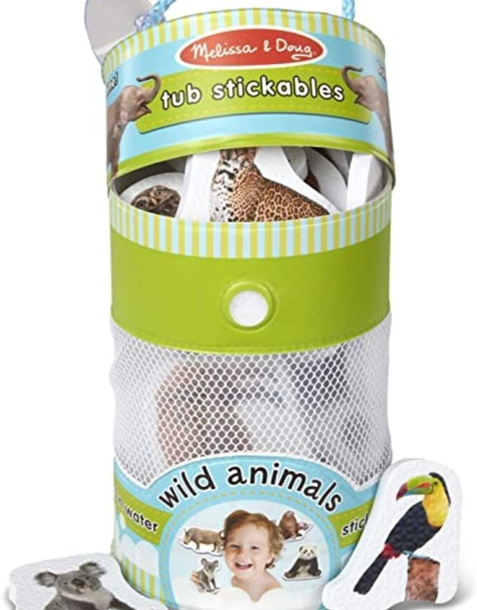 Melissa & Doug Tub Stickables - WIld Animals