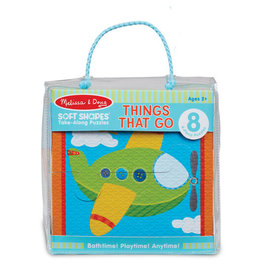 Melissa & Doug Soft Shapes Take Along Puzzle - Things That Go