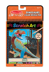 Melissa & Doug Scratch Art - Dinosaur