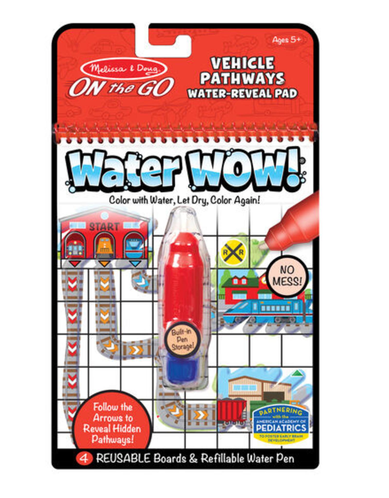 Melissa & Doug Water Wow! - Vehicles Pathways