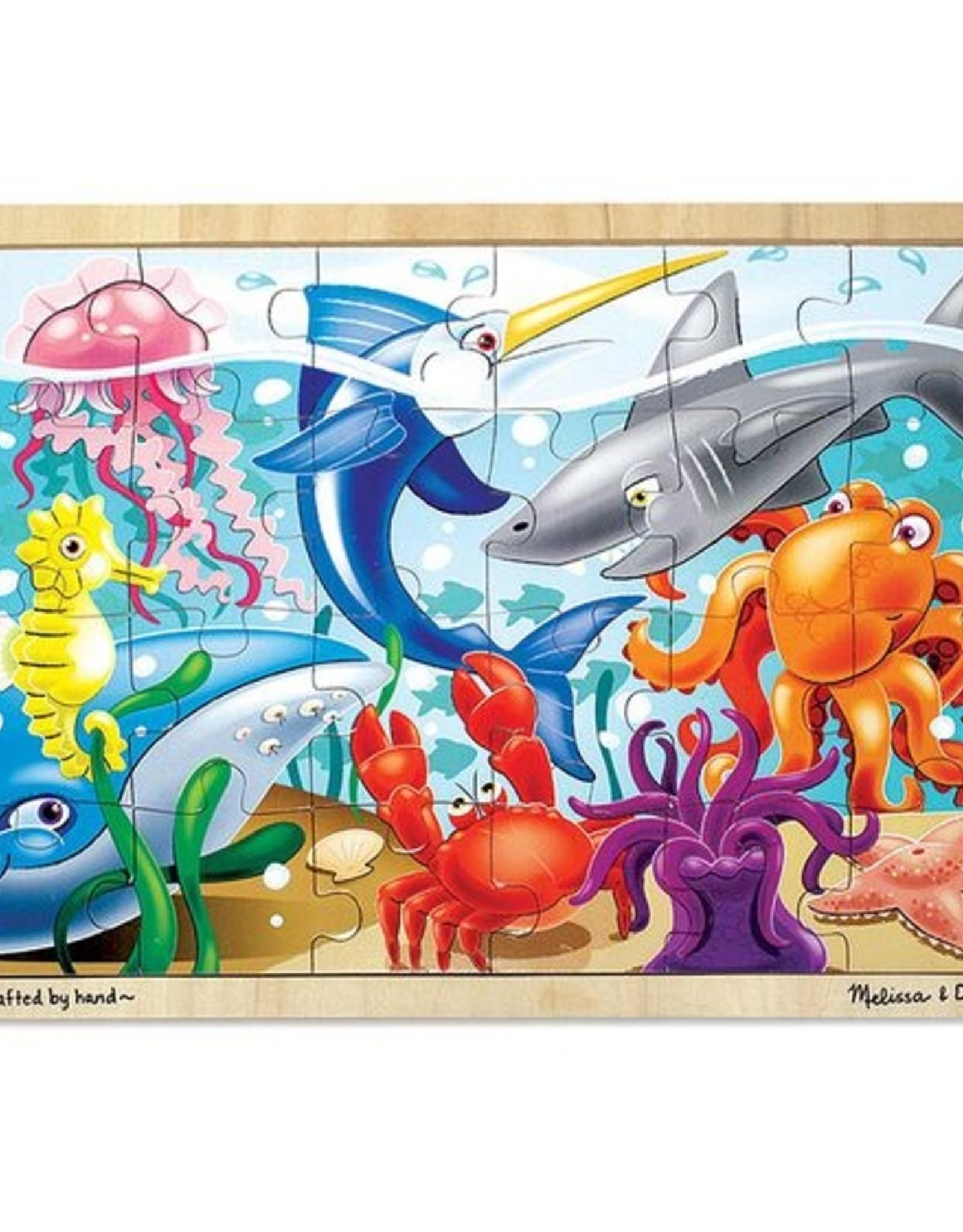Melissa & Doug Under the Sea Jigsaw (24pcs)