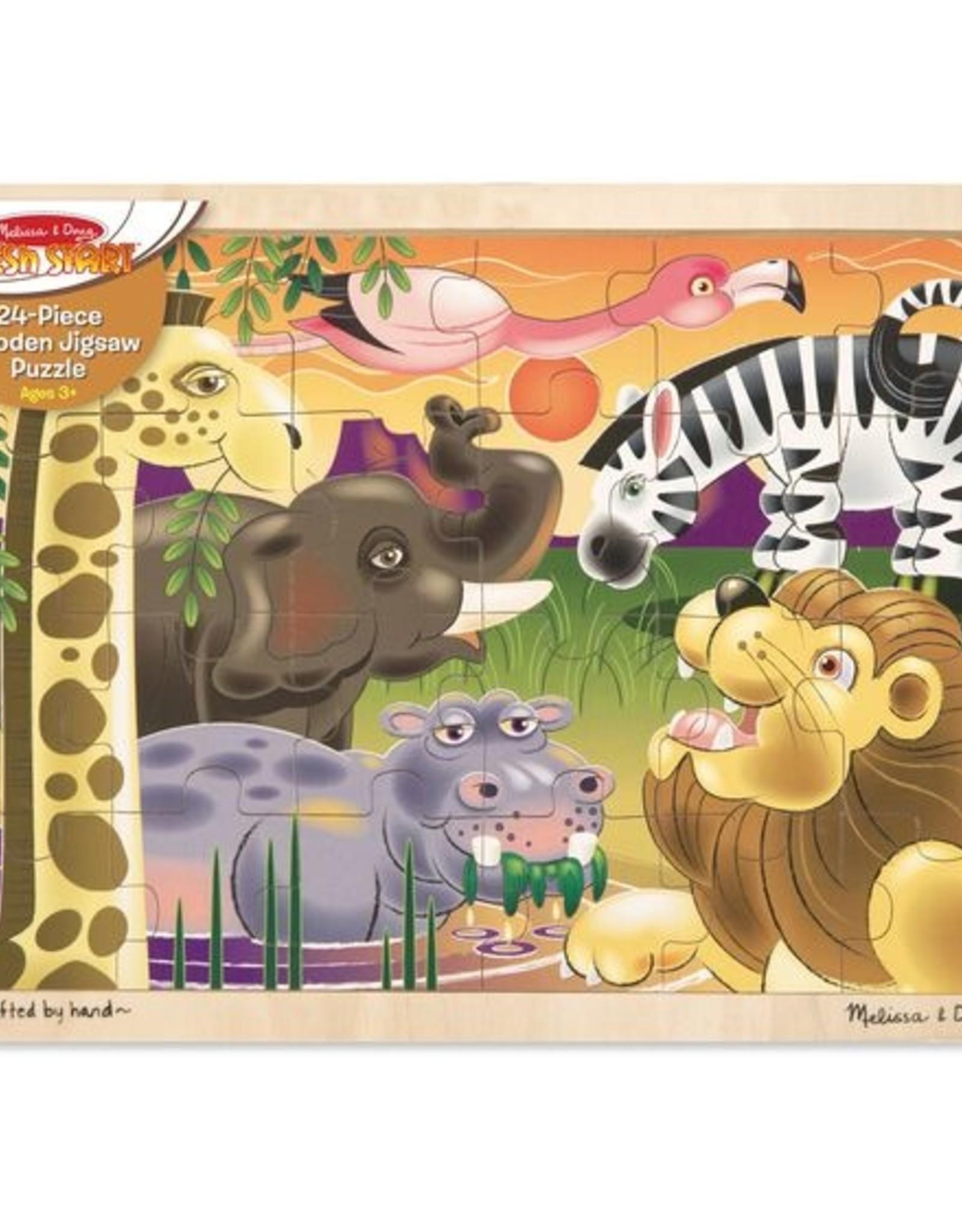 Melissa & Doug African Plains Jigsaw (24pcs)